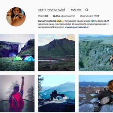 Popularne hashtagi podróżnicze na instagramie