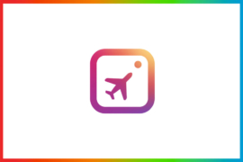 travel instagram logo design